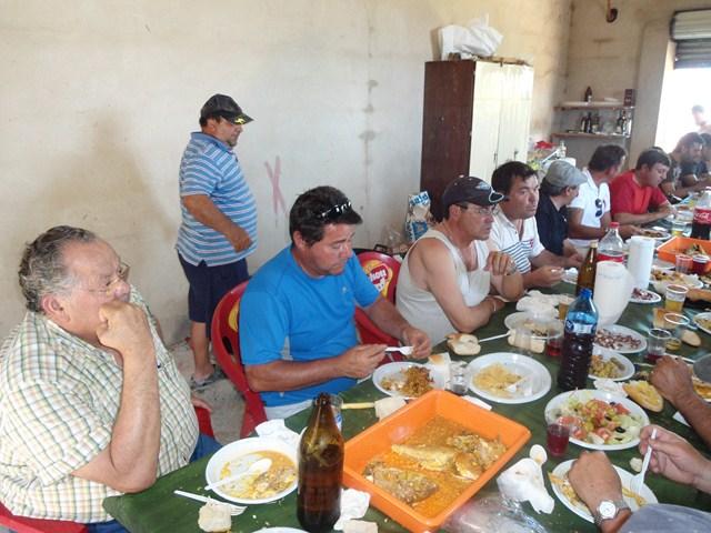 La pe a repsol cierra la temporada con una comida de for Repsol butano santa pola
